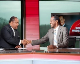 Roland Martin and Dr. Ben Carson Spar Over Healthcare (VIDEO)