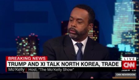 Mo'Kelly on CNN International Re: Trump Asia Trip (VIDEO)