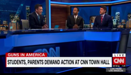 Mo'Kelly on CNN International: Florida Survivors Town Hall * Trump Listening Session (VIDEO)