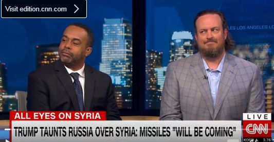 Mo'Kelly on CNN International Re: Syria * Steve Bannon Advice * Access Hollywood Tape (VIDEO)