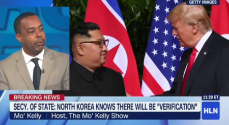 Mo'Kelly on HLN Re: North Korea Summit Takeaway * Republican Poking of 'Trump Bear' (VIDEO)