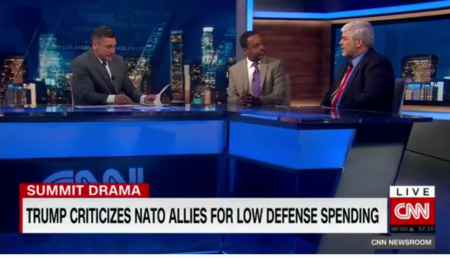 Mo'Kelly on CNN International RE: NATO Summit Implosion (VIDEO)