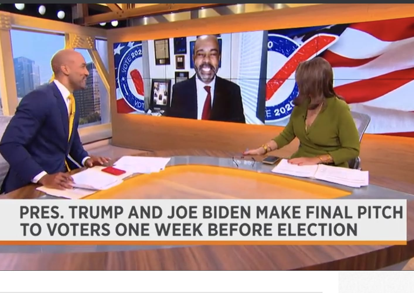 Mo'Kelly on Spectrum News Giving a Pre-Election Race Update (WATCH)