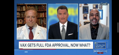 Mo'Kelly on 'The Donlon Report' Re: Pfizer FDA Approval (WATCH)