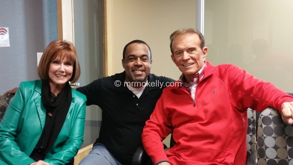 Stephanie Edwards and Bob Eubanks